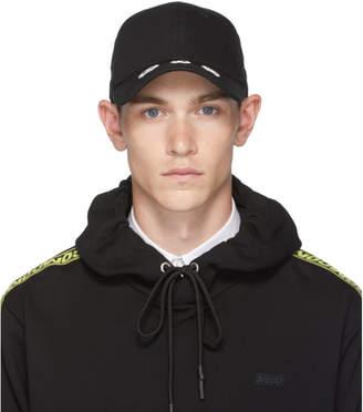 McQ Black Baseball Cap