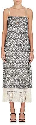 Derek Lam Women's Layered Embroidered Midi-Dress