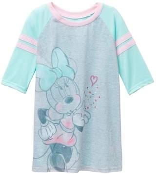 AME Minnie Mouse Raglan Nightgown (Little Girls & Big Girls)