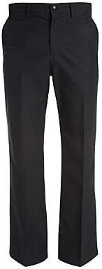 Valentino Men's Silk-Blend Straight-Leg Trousers