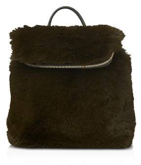 Whistles Verity Mini Faux Fur Backpack