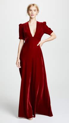 Jill Stuart Short Sleeve Gown