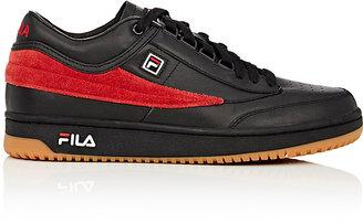 """Fila x Gosha Rubchinskiy Men's """"T-1 Mid"""" Leather & Suede Sneakers"""