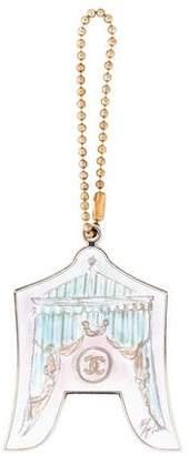 Chanel Dog Tag Key Chain