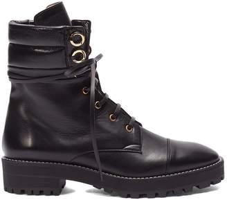 Stuart Weitzman 'Lexy' leather combat boots