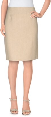 Moschino Cheap & Chic MOSCHINO CHEAP AND CHIC Knee length skirts