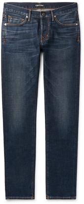 Tom Ford Slim-Fit Denim Jeans - Men - Blue