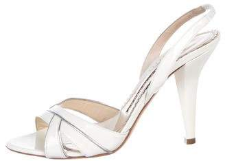 Jimmy Choo Crossover Slingback Sandals