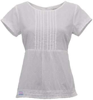 M&Co Brakeburn dobby blouse