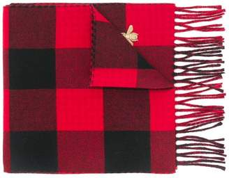 Gucci checked scarf