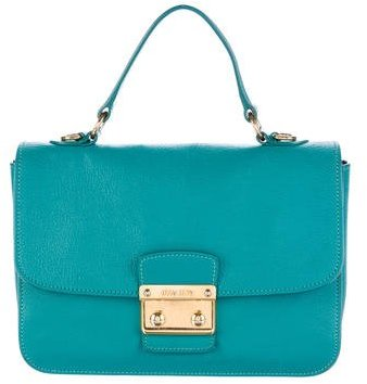 Miu Miu Miu Miu Madras Leather Bag