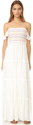 Tory Burch Smocked Dress $395 thestylecure.com