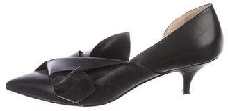 No.21 No. 21 Leather Bow Pumps