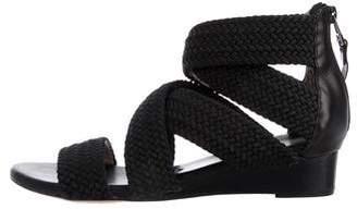 Matt Bernson Crossover Wedge Sandals