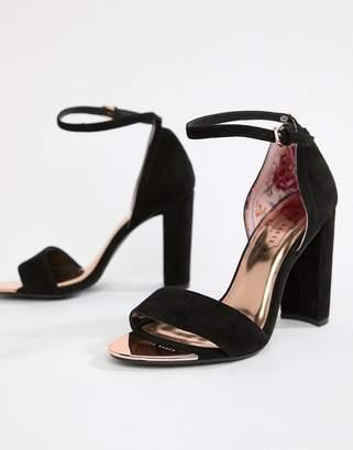 4d227eb2dfd97 Ted Baker Black Heeled Sandals For Women - ShopStyle UK