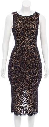 Michael Kors Sleeveless Lace Dress