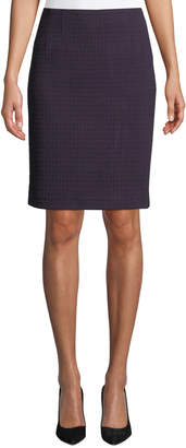 Nanette Lepore Magic Carpet Knit Pencil Skirt
