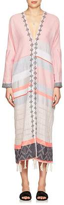 Lemlem Women's Tereza Cotton-Wool Caftan