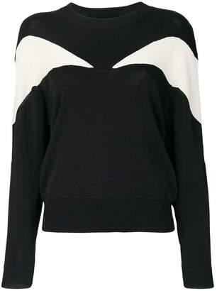 Isabel Marant panelled jumper