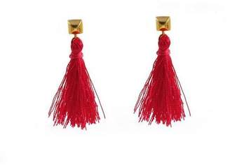 Flaca Jewelry Tassel Stud Earrings