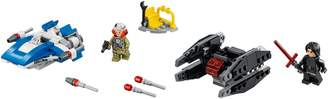 Lego Star Wars(R) A-Wing vs. TIE Silencer Microfighters - 38602