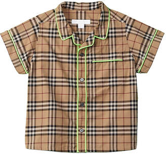 Burberry Boys' Check Woven Shirt