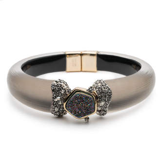 Alexis Bittar Druzy Stone Hinge Bracelet