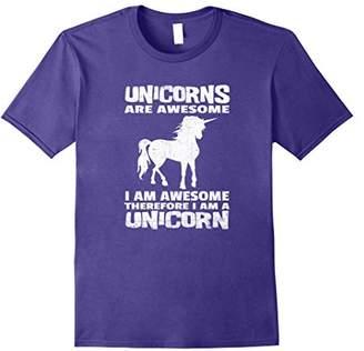 Unicorns are Awesome I am Awesome I am a Unicorn T-shirt