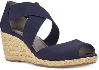 Bandolino Hullen Espadrille Platform Wedge Sandals Women's Shoes