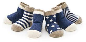 Izzy & Roo Heathered Baby Socks - Set of 4 Pair