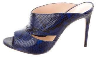 Alexandre Birman Cutout Slide Sandals
