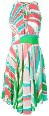 Emilio Pucci geometric print summer dress