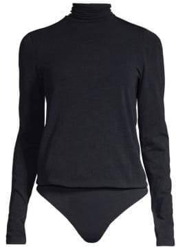 Wolford Colorado Lax String Turtleneck Thong Bodysuit
