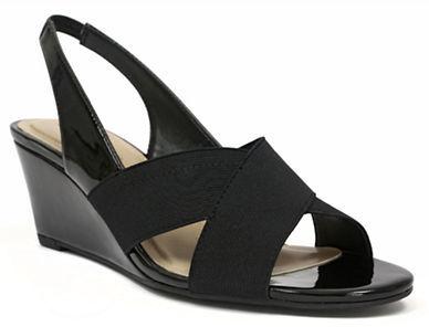Ellen Tracy Impulse Slingback Wedge Sandals