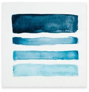 INK+IVY Blue Notes MDF Box Wall Art