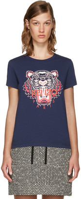 Kenzo Navy Limited Edition Tiger T-Shirt $115 thestylecure.com
