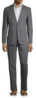 Canali Pinstripe Wool Suit