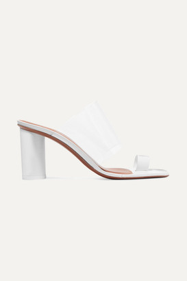 Neous Chost Leather And Perspex Sandals - White