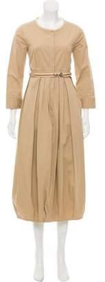 Max Mara 'S Button-Up Midi Dress