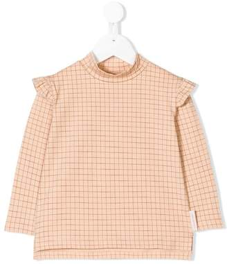 Tiny Cottons long-sleeve check blouse