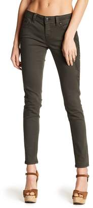 Miss Me Topstitched Mid Rise Skinny Jeans