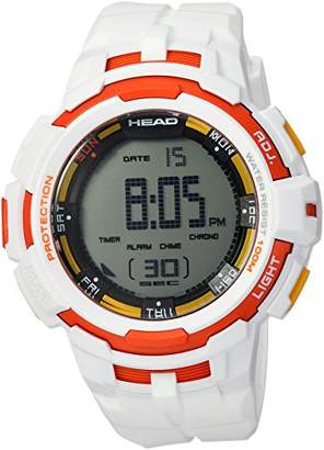 Head Men's 'Super G' Quartz Resin and Rubber Casual Watch