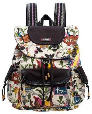 The Sak Sakroots Artist Circle Flap Backpack