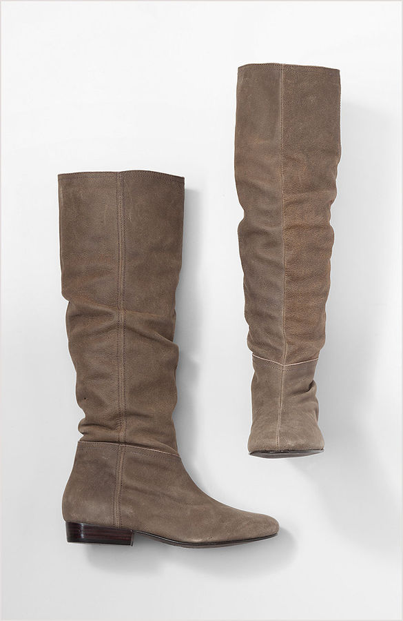 Soft slouch boots