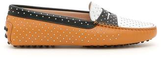 Tod's Gommino Loafers With Micro Studs
