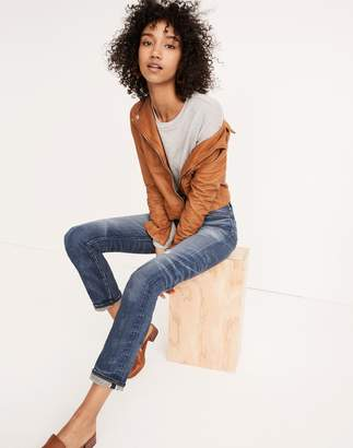 Madewell Rivet & Thread Straight Jeans in Buckthorn: Selvedge Edition