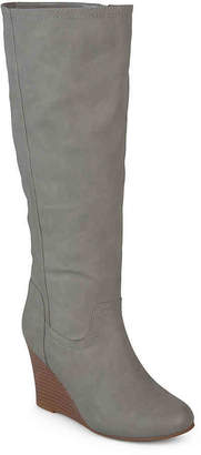 Journee Collection Langly Wedge Boot - Women's