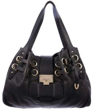 Jimmy Choo Leather Riki Tote