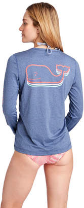Vineyard Vines Long-Sleeve Vintage Whale Swim Shirt