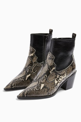 Topshop BLISS Western Boots